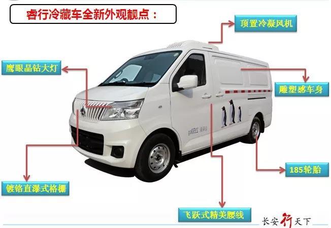 小型冷藏车